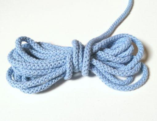Baumwollkordel hellblau