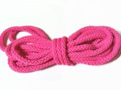 runde Baumwollkordel pink