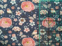 Sweet Flower blau SanDaLu Lineal