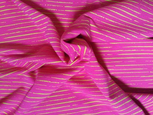 Ringeljersey pink hellgrün Strudel