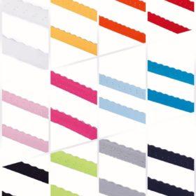 elastisches Einfassband in verschiedenen Farben SanDaLu