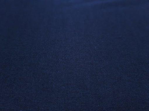 Baumwolle Webware dunkelblau Detail