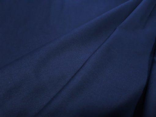 Fahnentuch dunkelblau Falten