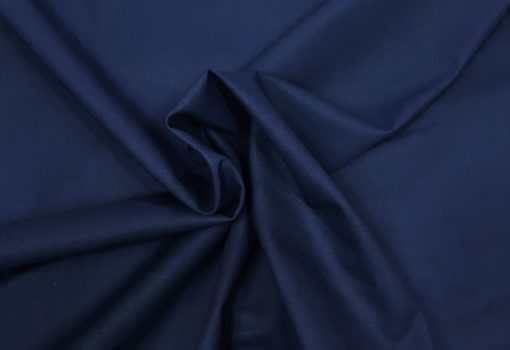 Baumwollstoff dunkelblau Strudel