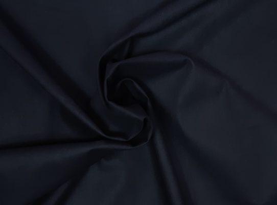 Baumwollstoff uni schwarz Strudel