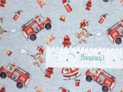 Feuerwehr Jersey Stoff Lineal