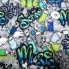 Graffiti Schriftzug Detai