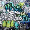 Graffiti Totenkopf Detail