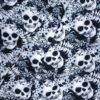 Sommersweat Skull Falten