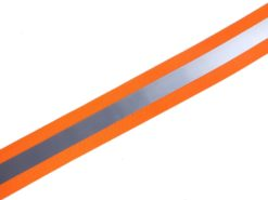 elastisches Reflektorband in orange
