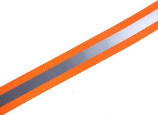 elastisches Reflektorband in orange