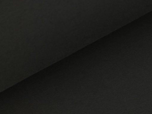schwarzes glattes Bündchen SanDaLu