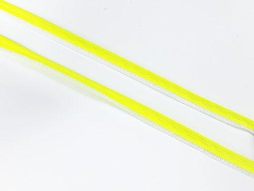 SanDaLu reflektierende Paspel neon gelb