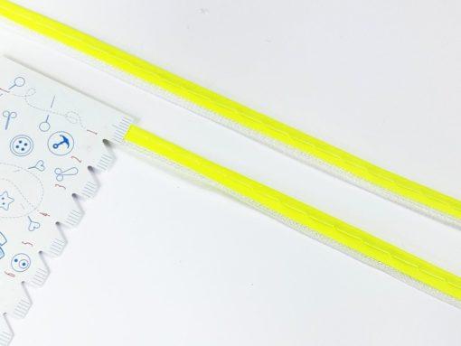 SanDaLu Reflexpaspel neon gelb Lineal