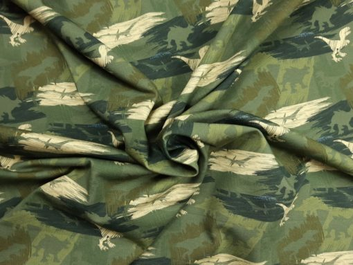 SanDaLu Dino Jersey army grün Strudel