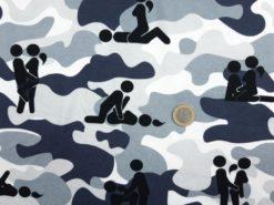 SanDaLu Stoff mit Sex Stellungen Euro