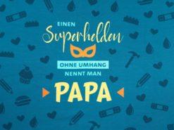 SanDaLu Jersey Panel Papa Superheld