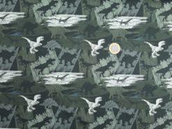 SanDaLu Dinosaurier Stoff Größenvergleich