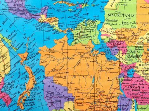 Webware mit Landkarte Detail