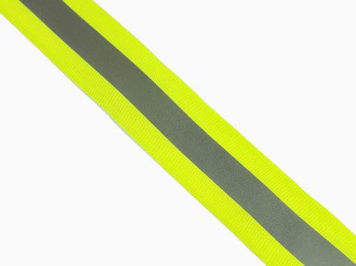 SanDaLu Band mit Reflexstreifen neon gelb
